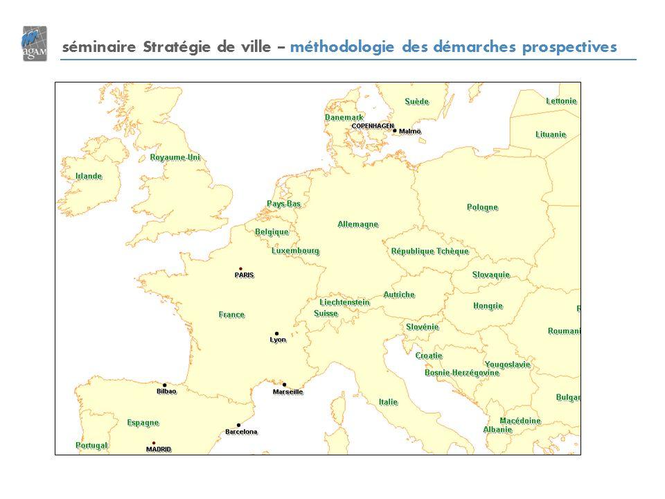séminaire Stratégie de ville – méthodologie des démarches prospectives