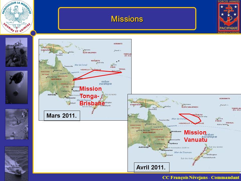 Missions Mission Tonga- Brisbane Mars 2011.