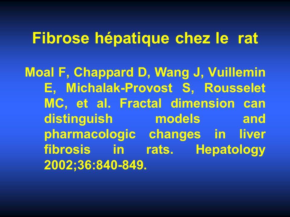 Relation avec lHTP Relation entre VO et aire de fibrose (p = 0,05) ou DF (p = 0,27) chez F4.Relation entre VO et aire de fibrose (p = 0,05) ou DF (p = 0,27) chez F4.