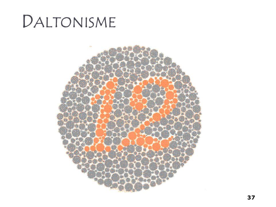 37 D ALTONISME