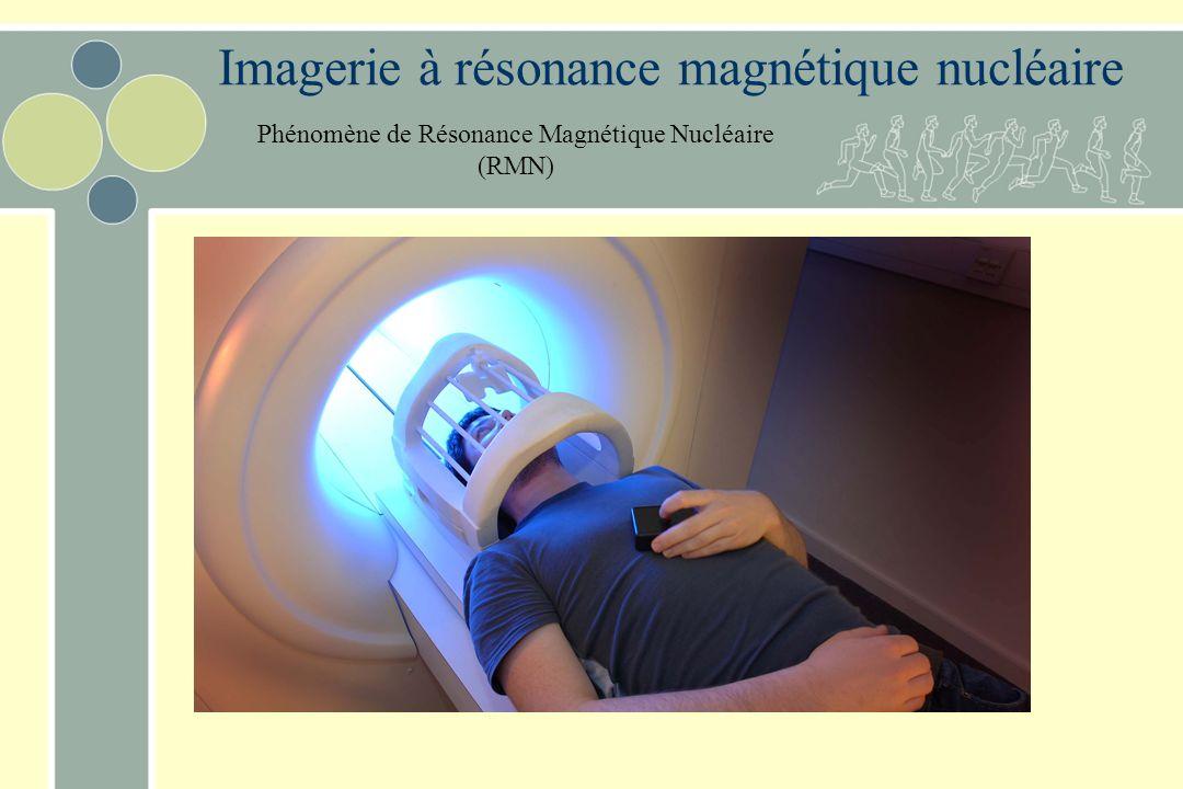 Imagerie à résonance magnétique nucléaire Phénomène de Résonance Magnétique Nucléaire (RMN)