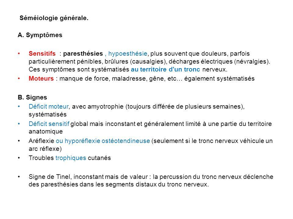 Séméiologie générale.A.