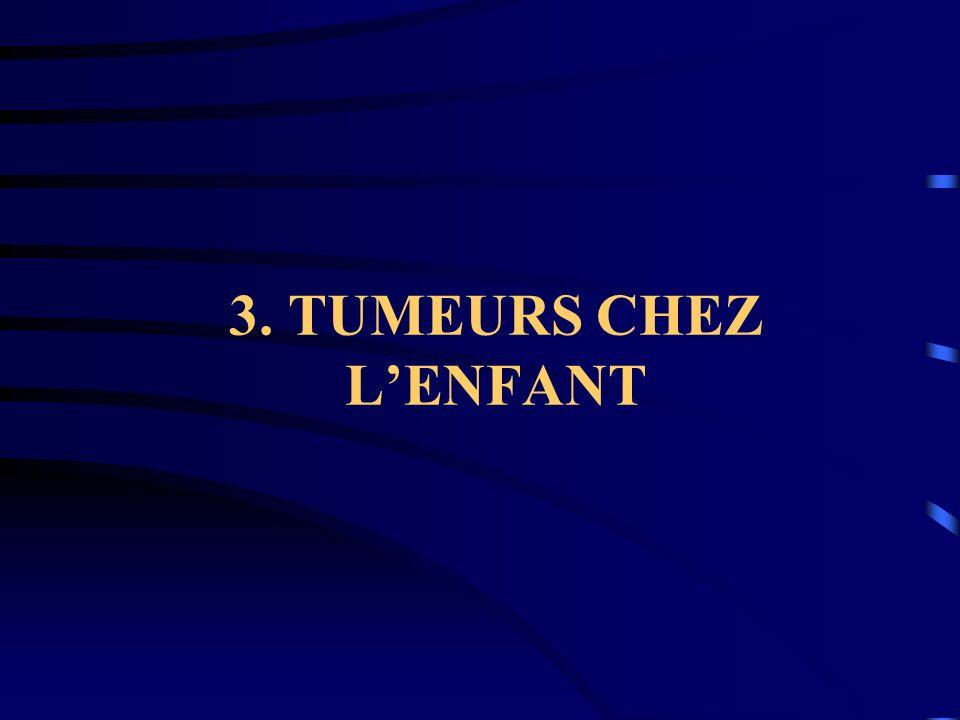3. TUMEURS CHEZ LENFANT