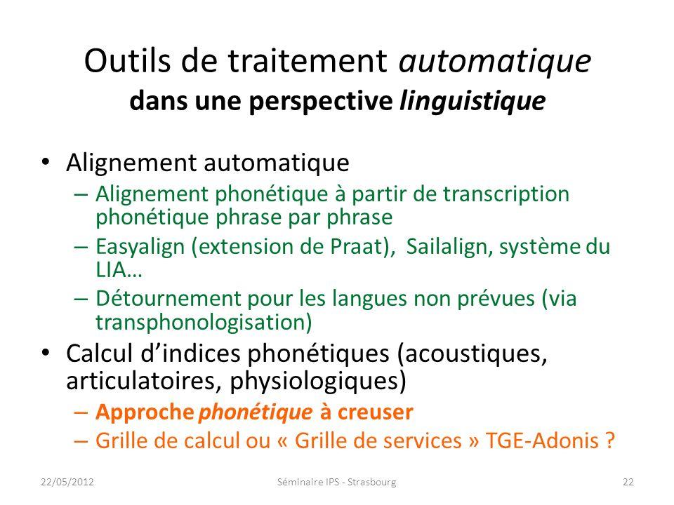 Ressources secondaires (annotations) produites par des humains Avantages – Permet dencoder de linformation linguistique complexe (compréhension du cod