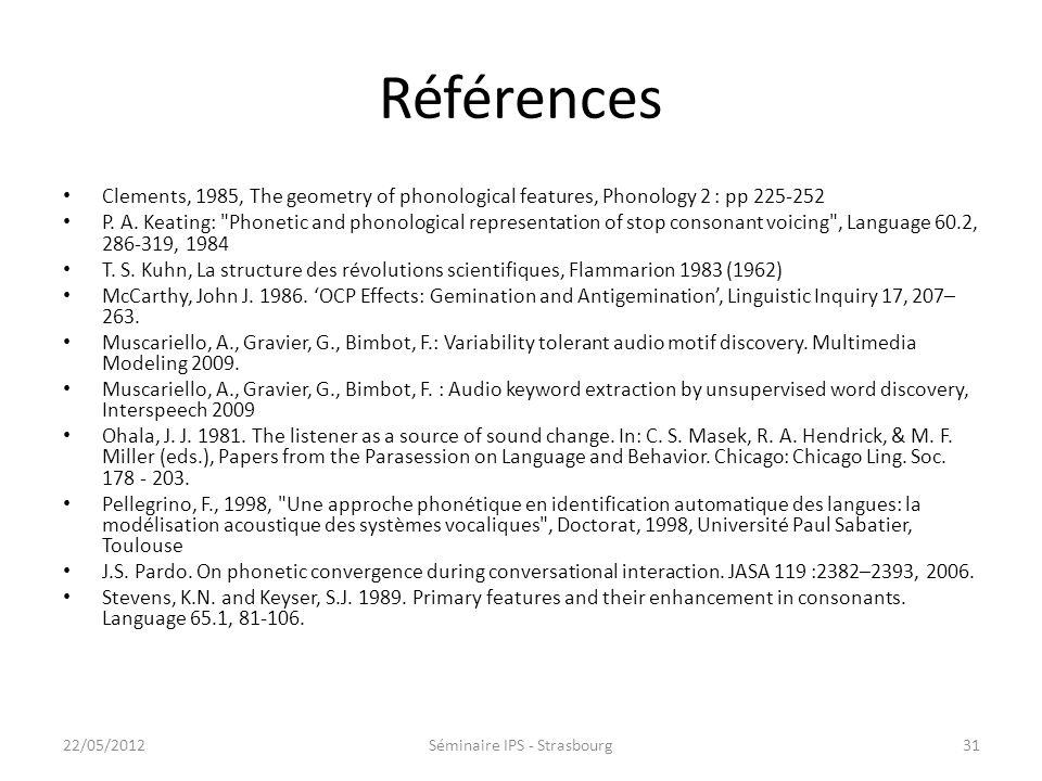 Phonétique de corpus Pour une meilleure compréhension de la diversité sonore des langues Investigation outillée – Utilisation dannotations manuelles o