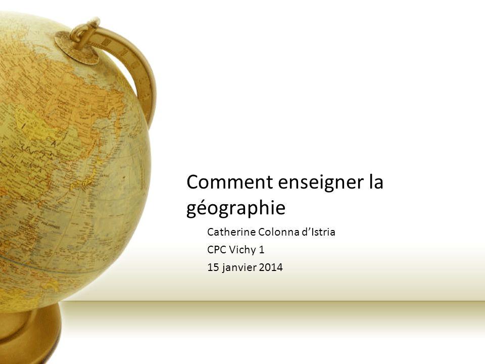 La géographie et le développement durable