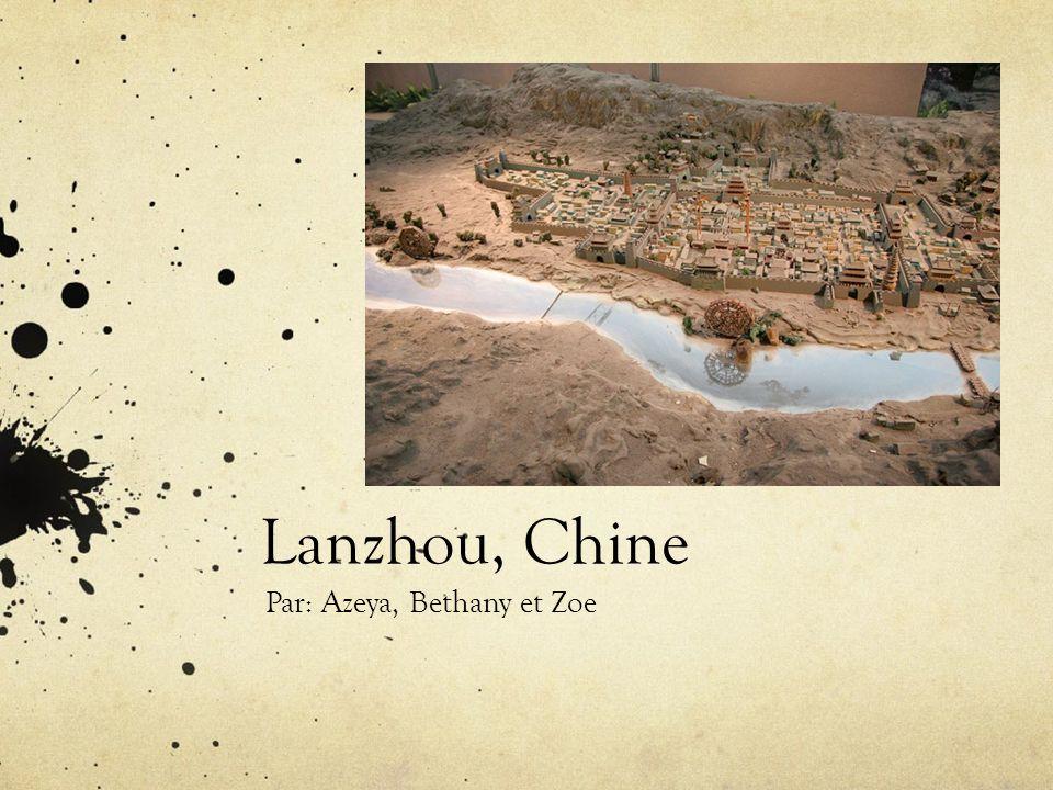 Le climat Le climat de Lanzhou nest pas très chaud ou très froid pendant lannée.