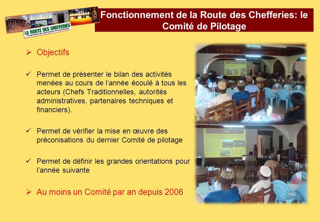 Objectifs Permet de présenter le bilan des activités menées au cours de lannée écoulé à tous les acteurs (Chefs Traditionnelles, autorités administrat