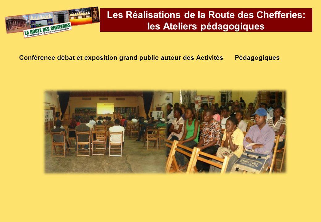 Conférence débat et exposition grand public autour des Activités Pédagogiques