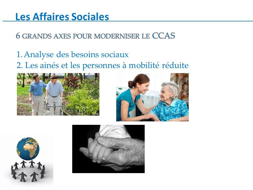 Les Affaires Sociales 2. Les ainés et les personnes à mobilité réduite