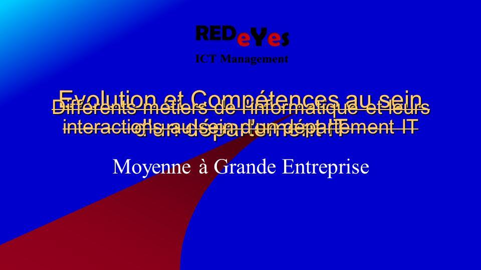 Introduction: Métiers et Structure du département IT La pyramide Décisionnelle Hard Skills / Soft Skills Career Paths Agenda