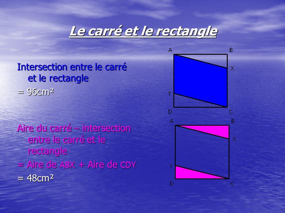 On pouvons dire et confirmer que le triangle ABX et le triangle CDY sont des triangles isométriques car ils ont: |AB| = |CD| AB // CD BX // DY AX // CY
