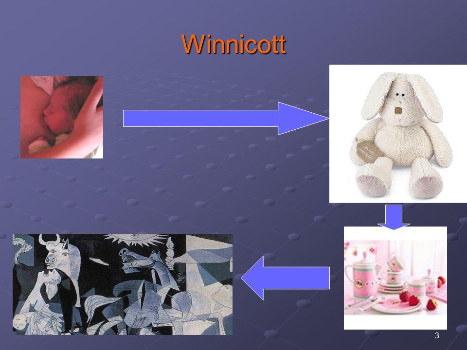 4 Winnicott: du doudou à la culture Aire transitionnelle = espace de pensée entre le bébé et sa mère.