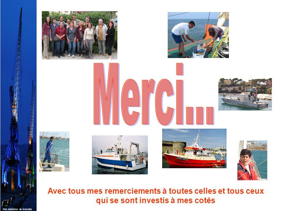Port Autonome de Marseille Avec tous mes remerciements à toutes celles et tous ceux qui se sont investis à mes cotés
