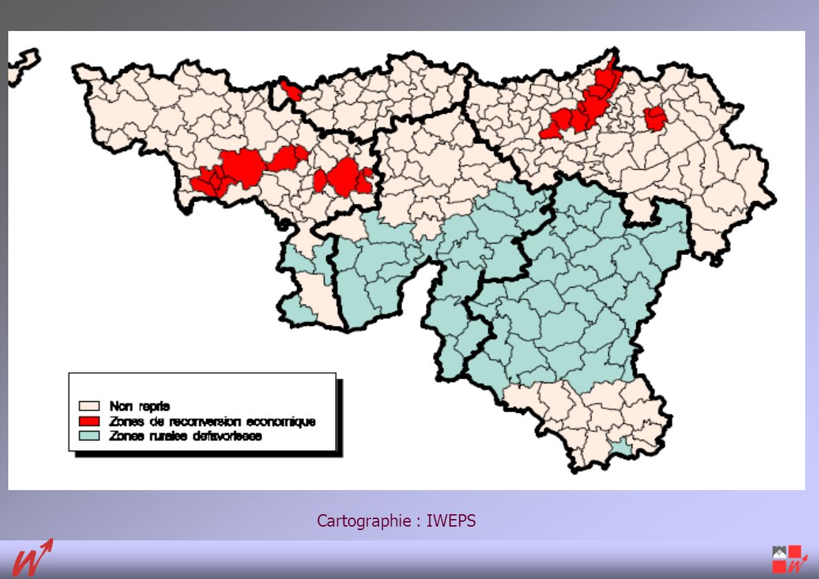 Cartographie : IWEPS