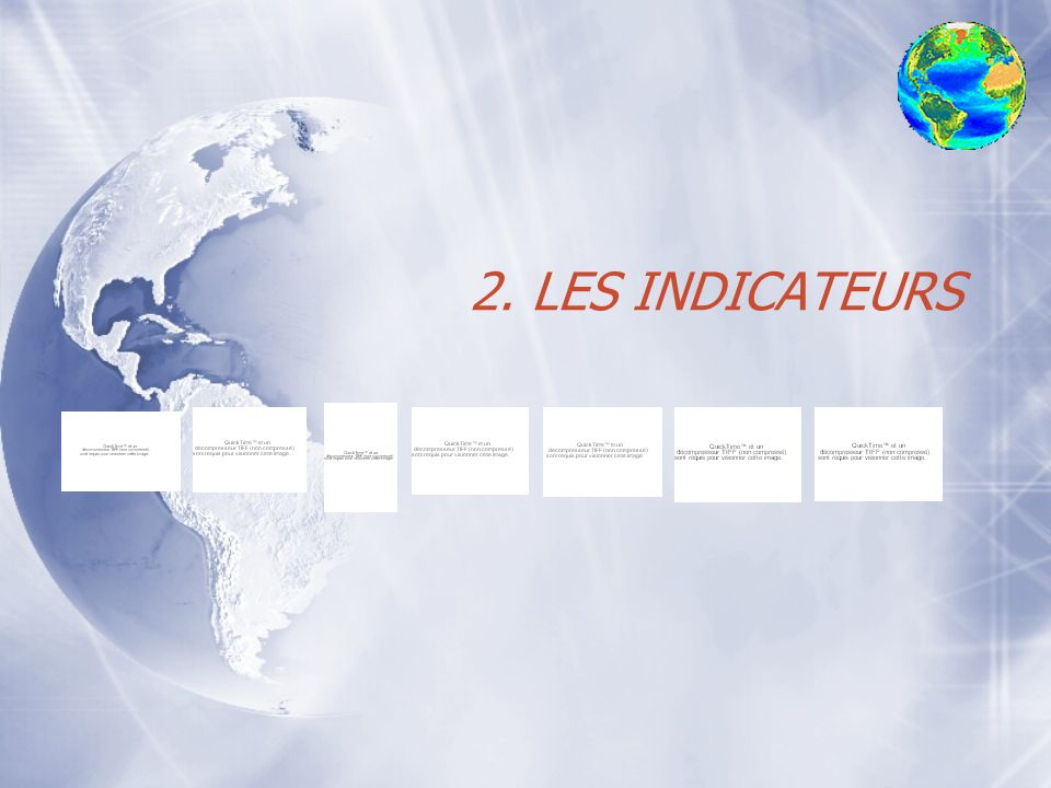 2. LES INDICATEURS