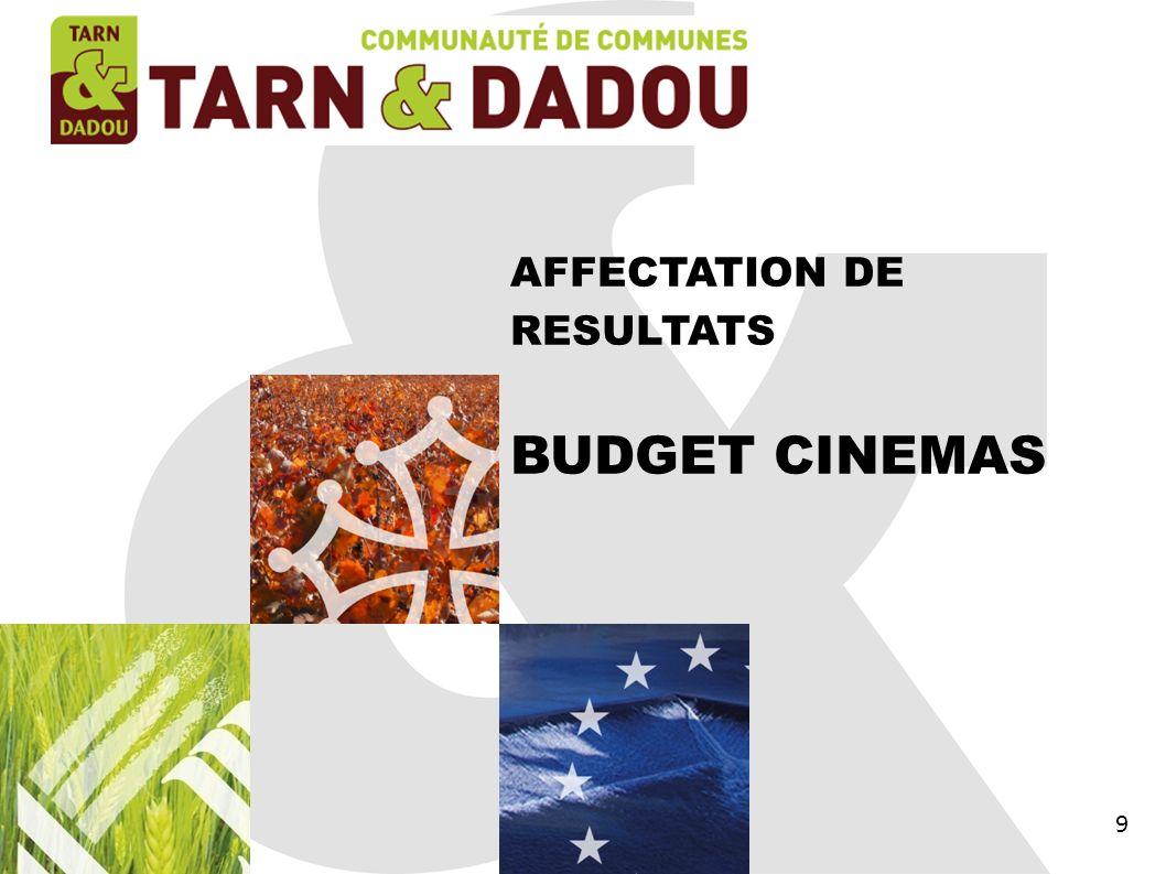 BUDGET CINEMAS SECTION INVESTISSEMENT 60
