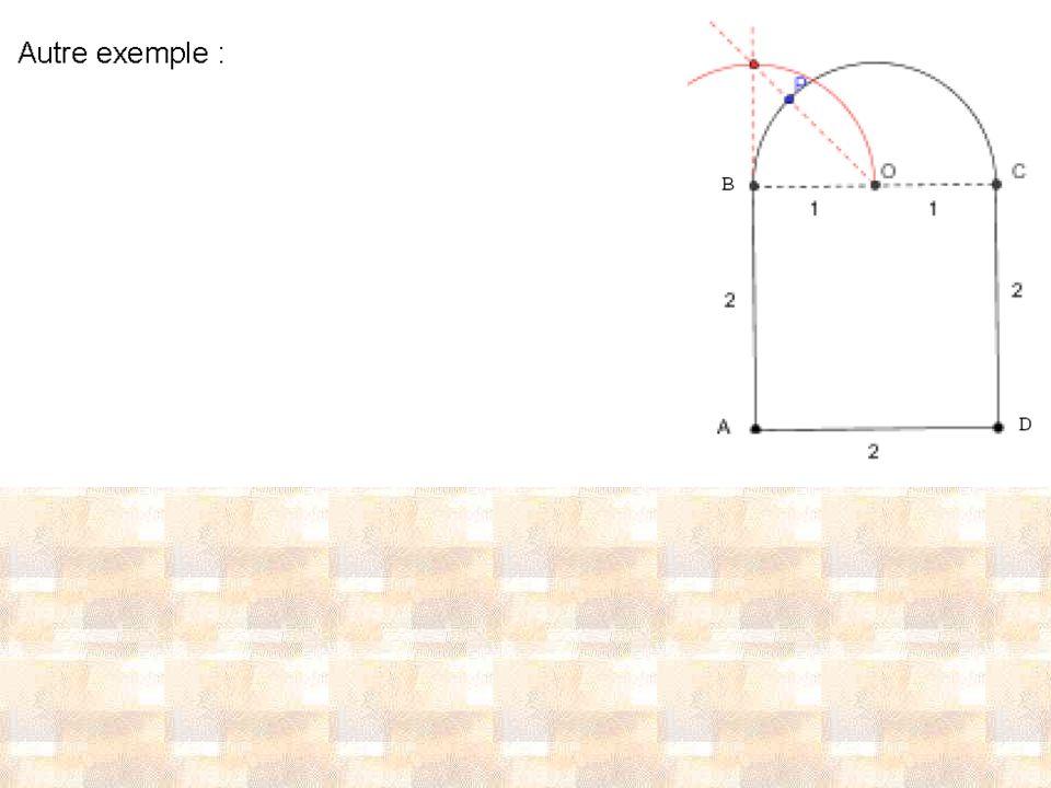 Exercice 1 : compléments Erreurs commises : - Confusion entre cercle et disque ou entre demi-cercle et demi-disque (exemple : « aire du demi-cercle »).