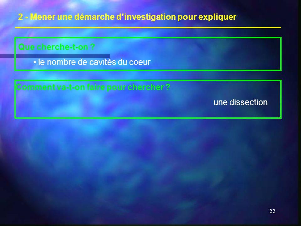 22 2 - Mener une démarche dinvestigation pour expliquer Que cherche-t-on .