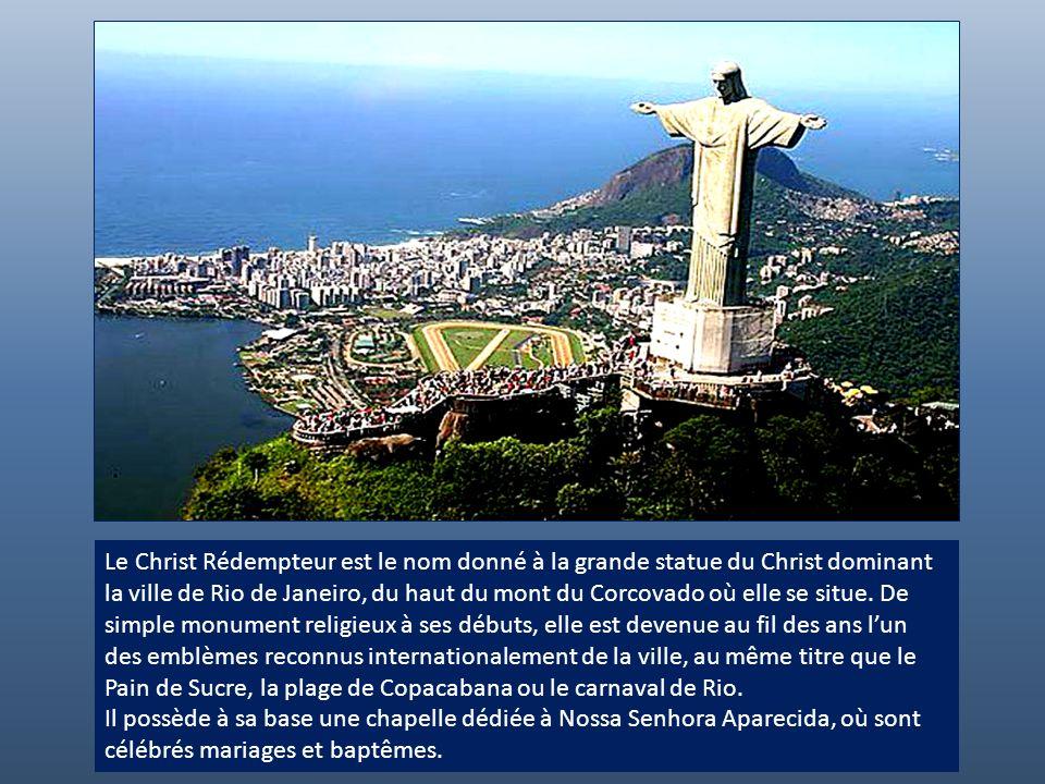 Le Christ Rédempteur de Rio de Janeiro Une présentation de André Hernandez André Hernandez