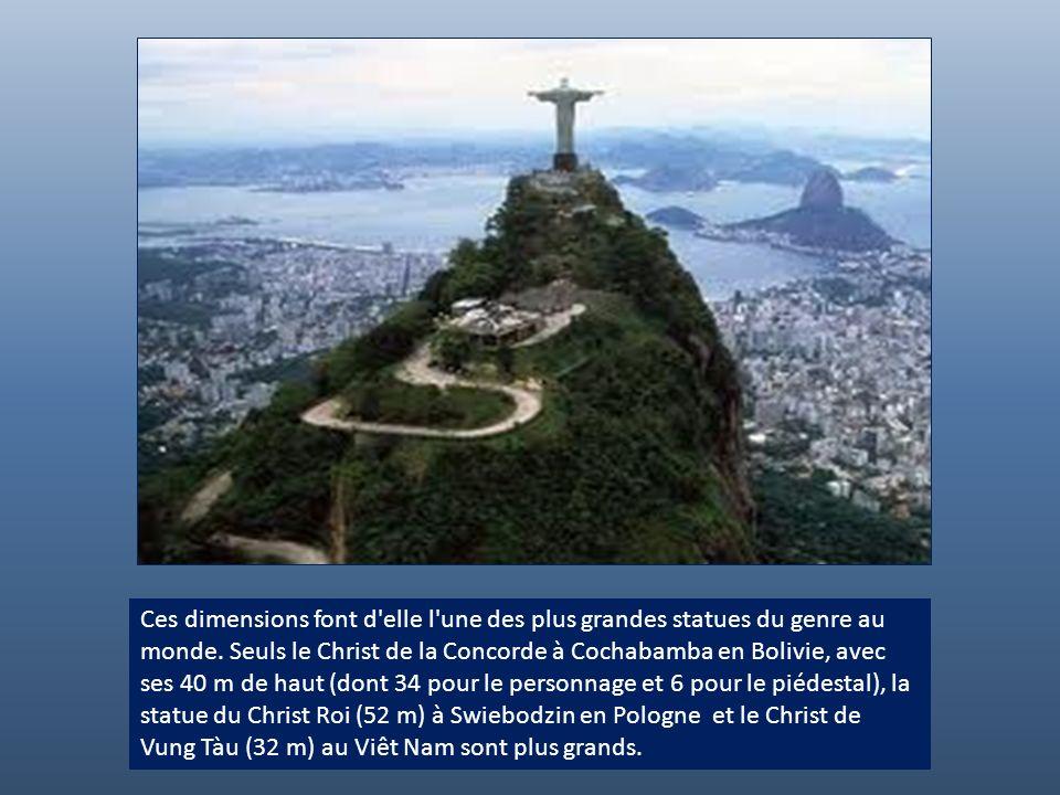 Ces dimensions font d elle l une des plus grandes statues du genre au monde.