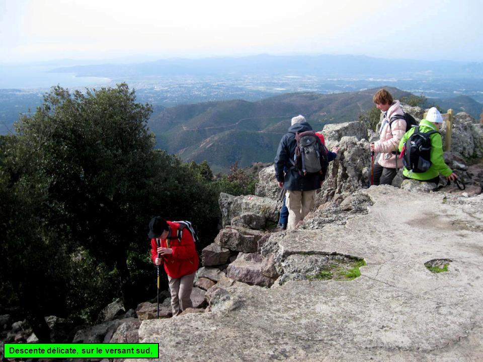 Enfin, au sud, la base vallée de lArgens se repère bien, Saint-Tropez 11 mars 2008 Cap de Saint-Tropez mais pas de scoop pour le paparazzo : à 30 km,