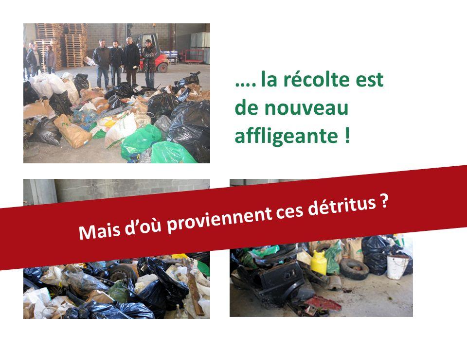 des filières de ramassage des ordures, des encombrants, des containers… Surtout quil existe dans chaque village : …et la zone comporte 6 déchèteries.