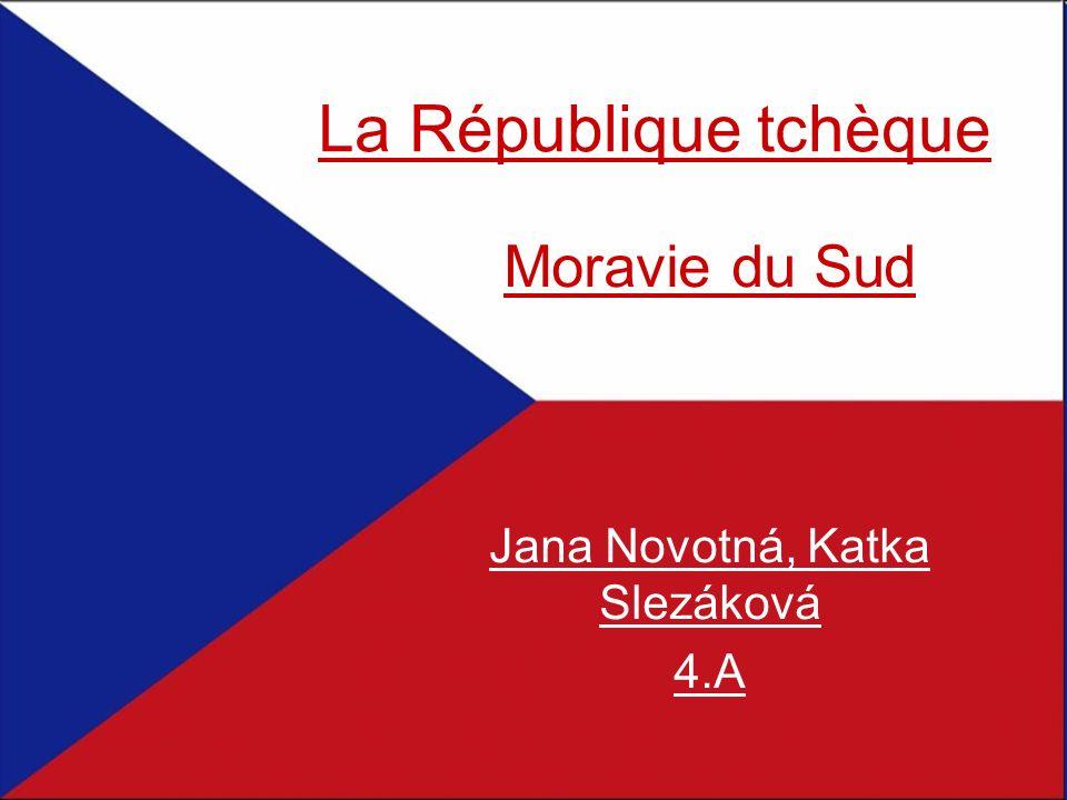 La République tchèque Moravie du Sud Jana Novotná, Katka Slezáková 4.A