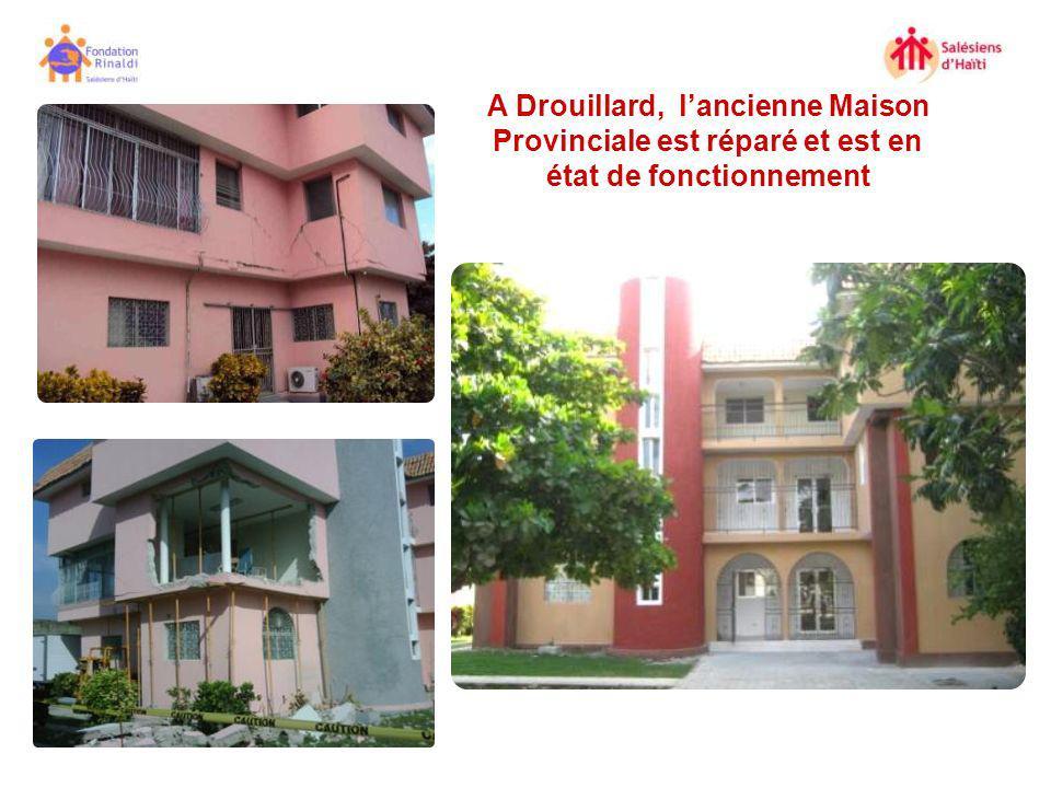 A Drouillard, lancienne Maison Provinciale est réparé et est en état de fonctionnement