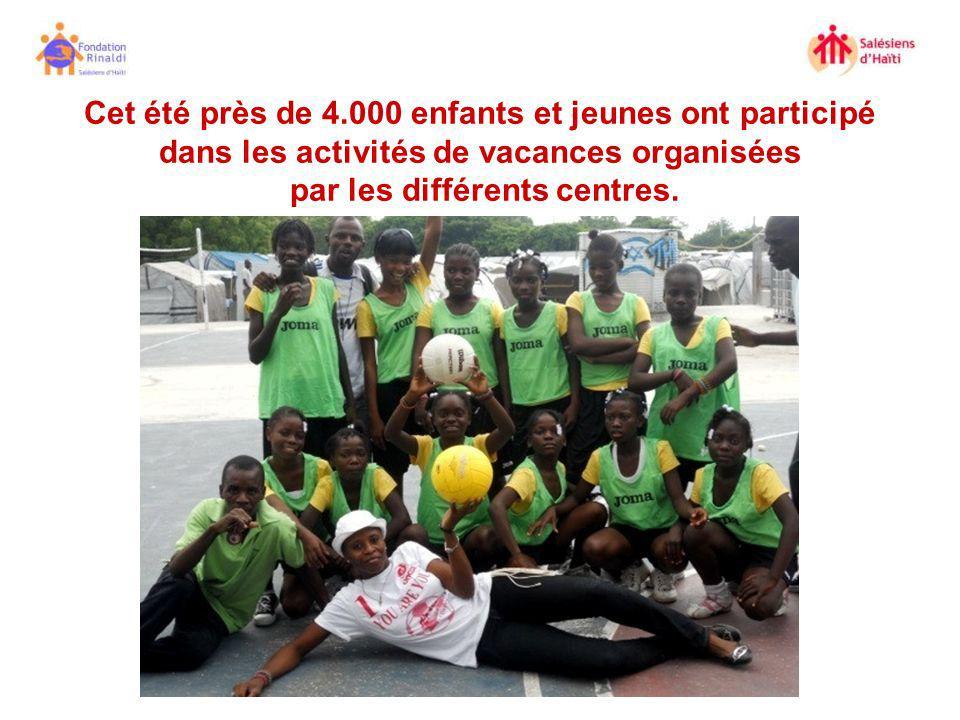 Cet été près de 4.000 enfants et jeunes ont participé dans les activités de vacances organisées par les différents centres.