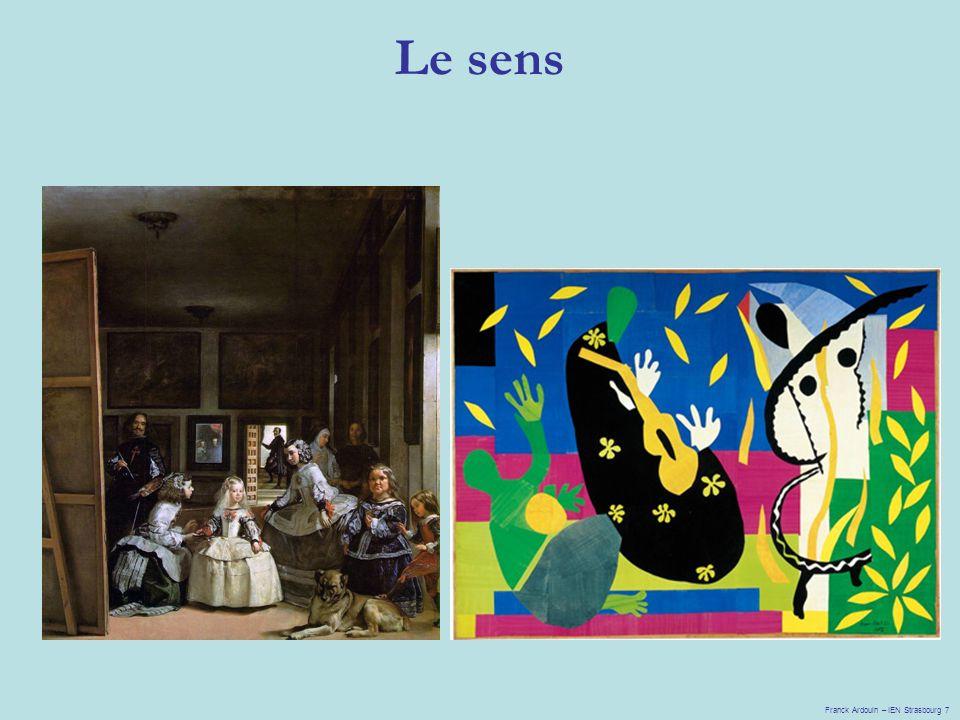 Le sens Franck Ardouin – IEN Strasbourg 7