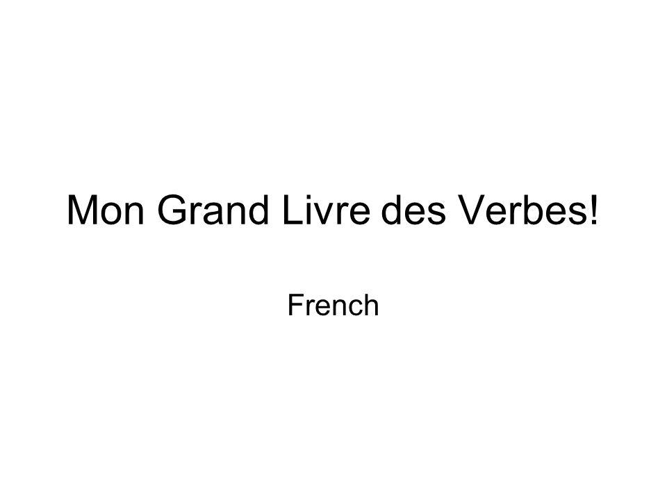 Mon Grand Livre des Verbes! French