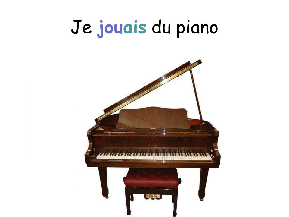 Je jouais du piano