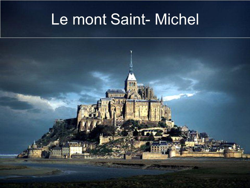 Le mont Saint- Michel