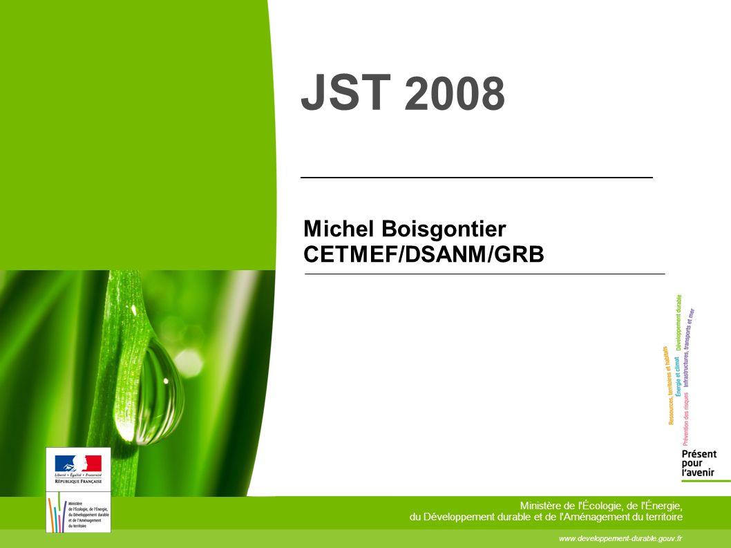 2 Le 10 décembre 2008 CETMEF/JST 2008 /e-navigation 2 L AIS appliqué à la signalisation maritime