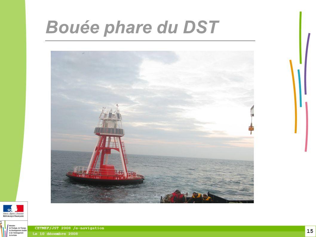 16 Le 10 décembre 2008 CETMEF/JST 2008 /e-navigation 16 AtoN MMSI 99 227 1 303