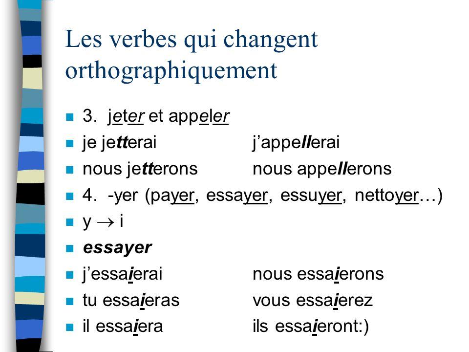La Conjugaison du Verbe essayer