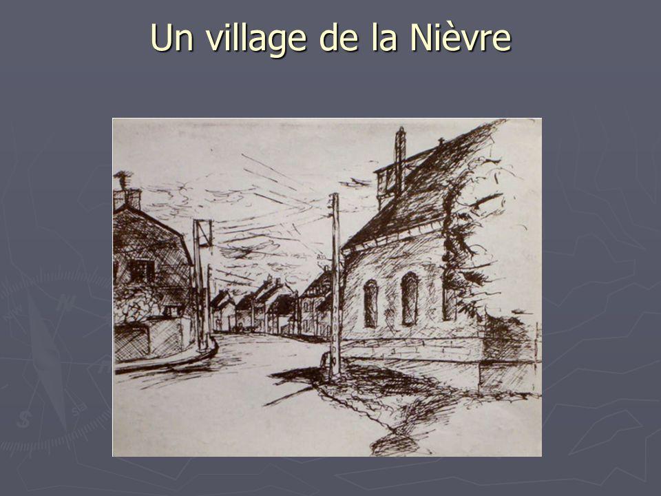Un village de la Nièvre