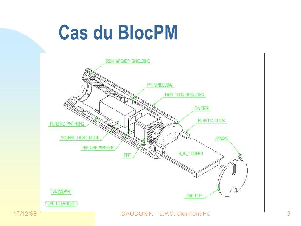 17/12/99DAUDON F. L.P.C. Clermont-Fd6 Cas du BlocPM