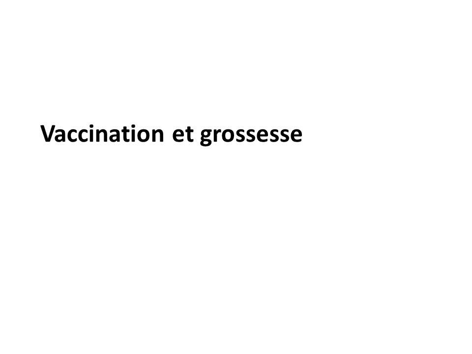 Vaccination et grossesse
