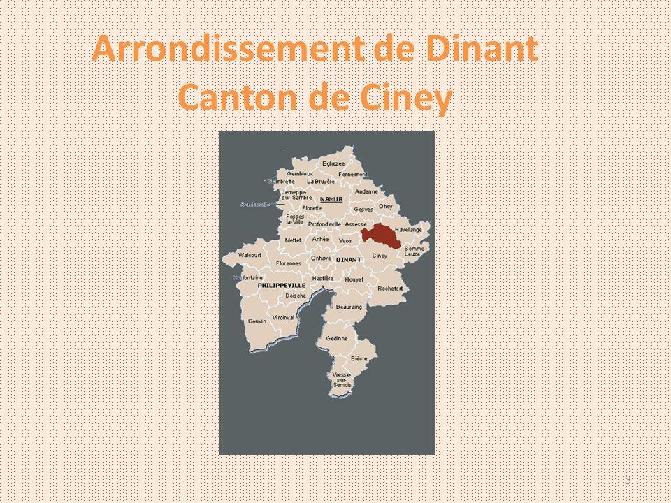 Arrondissement de Dinant Canton de Ciney 3