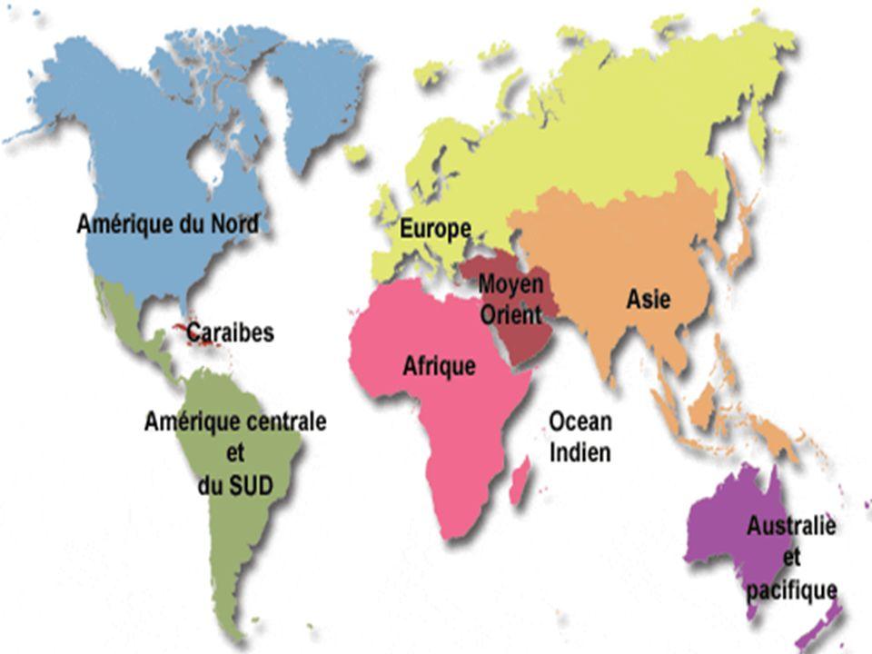 Nommer les continents Ecrire les noms de ces continents au tableau Observer les personnages et trouver leur nationalité