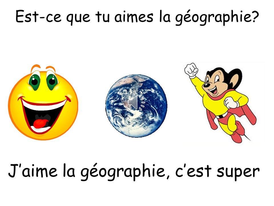 Est-ce que tu aimes le français? Jadore le français, cest intéressant
