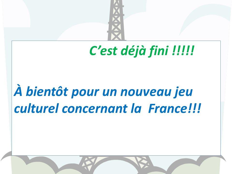 NON Cest un couturier français!