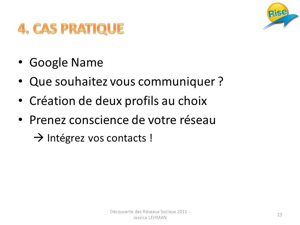 Google Name Que souhaitez vous communiquer .