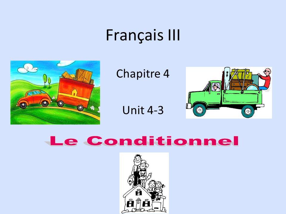 Français III Chapitre 4 Unit 4-3