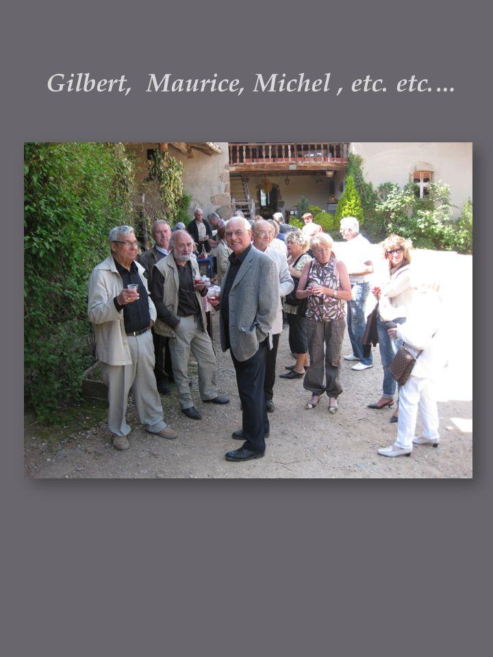 Gilbert, Maurice, Michel, etc. etc.…