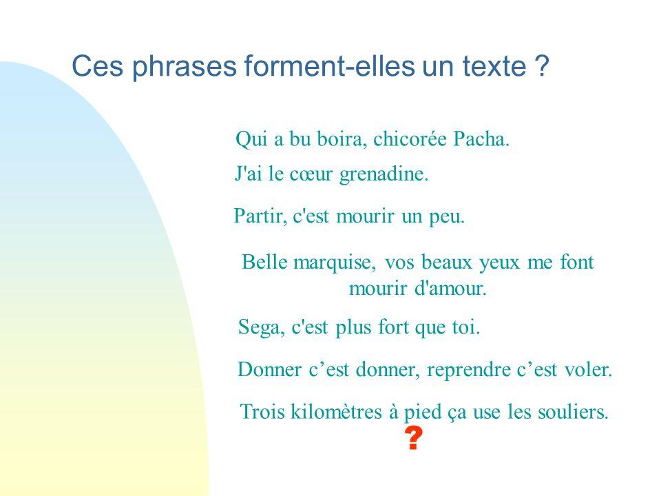 Organiser le texte Du mot au texte © Fralica - Philippe Van Goethem février 2012
