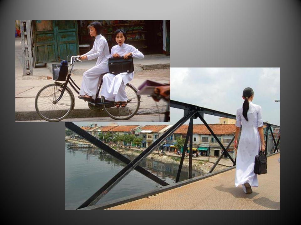 Le Vietnam cest le charme féminin et lélégance naturelle des femmes en « ao dai »
