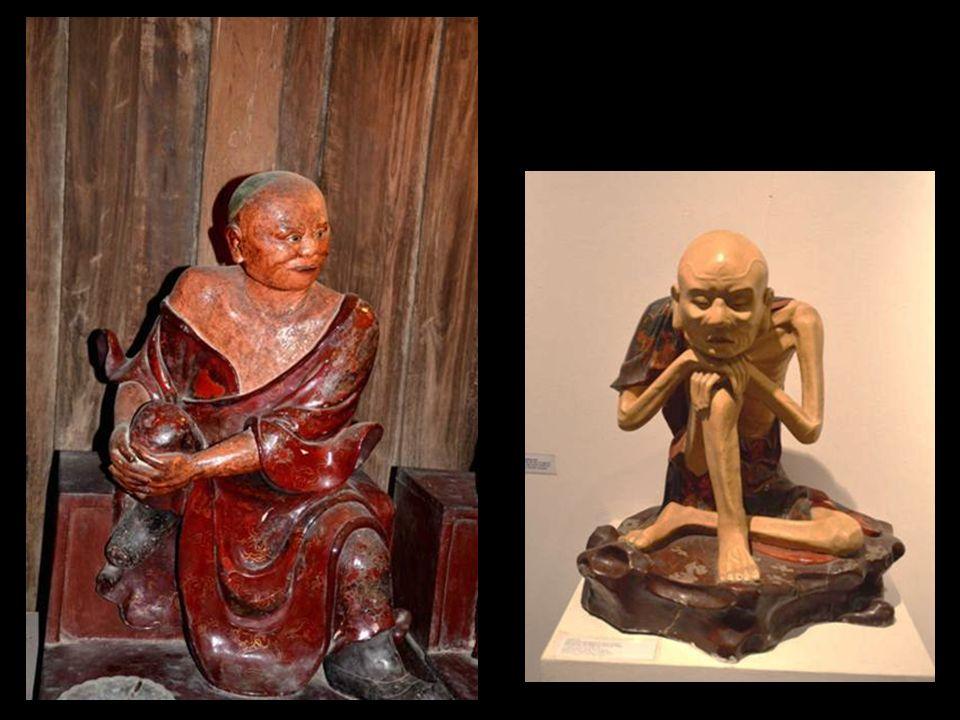 Les « caractères » dans un musée du centre-Vieitnam sont autant de statues allégoriques des comportements humains.